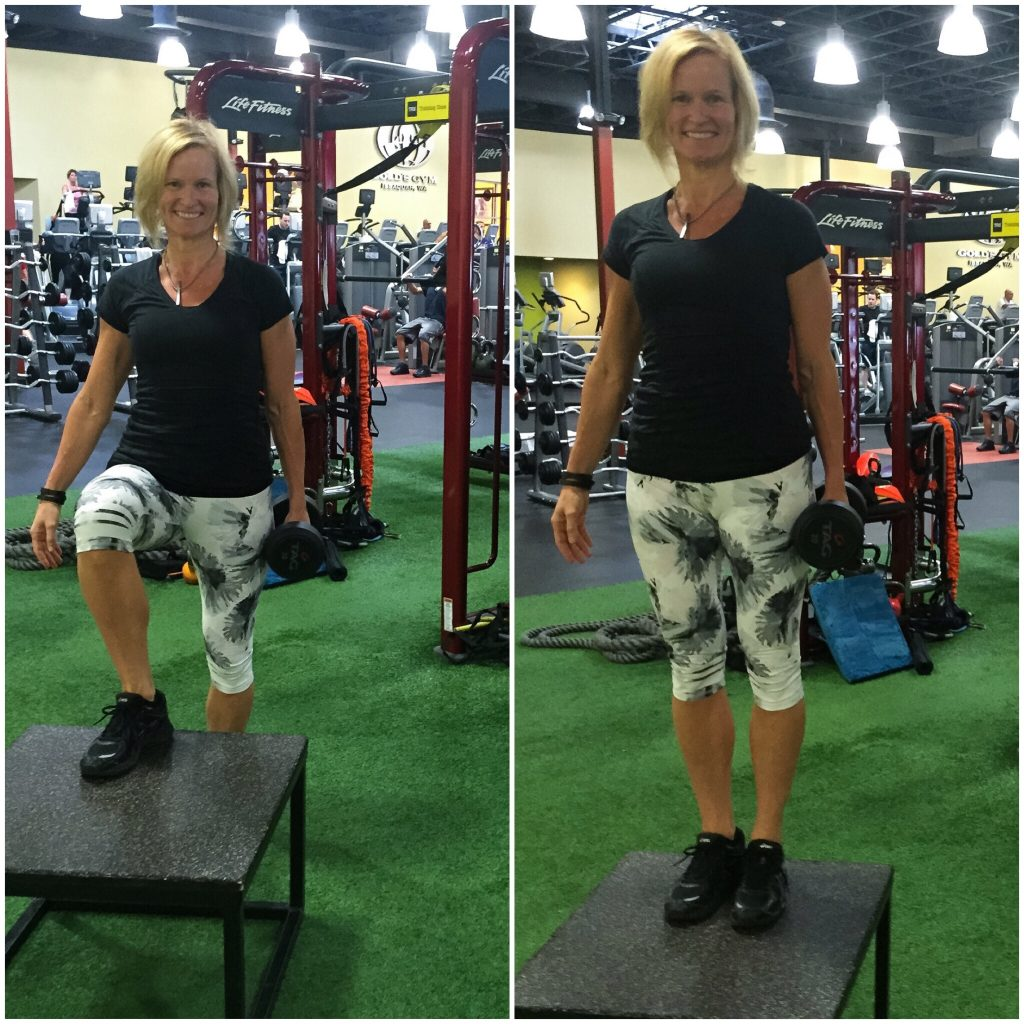 How To Do A Proper Step-Up. One Of The Best Exercises For ...