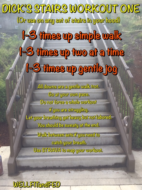 Stair Workout At Home Legs