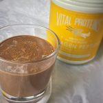 Power Sleep Smoothie: A Chocolate Vanilla Sedation