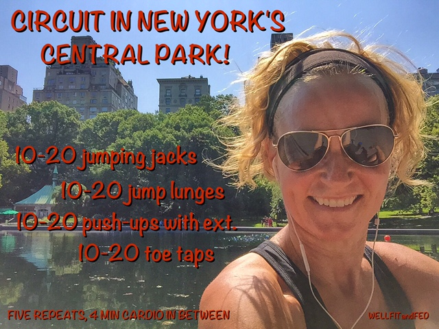 Central Park Circuit WELLFITandFED
