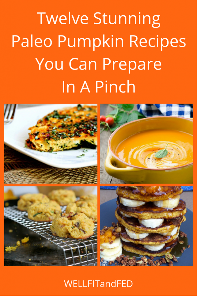 Twelve Stunning Paleo Pumpkin Recipes You Can Prepare In A Pinch