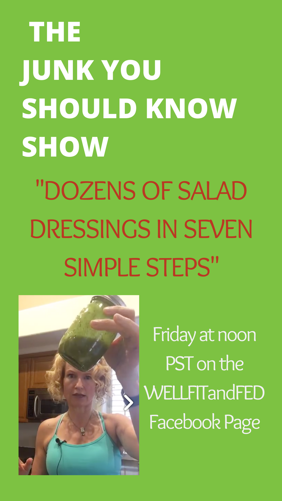 Dozens of salad dressings