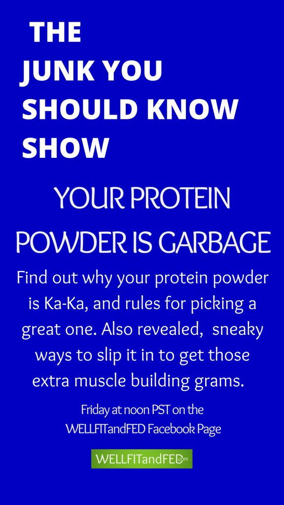 How good is your protein powder? Find out more the ep. 31 of The Junk You Should Know Show