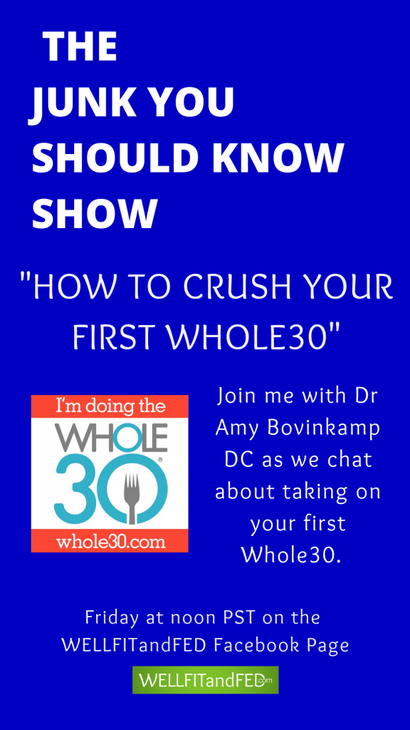 Join me with Dr. Amy Bovenkamp as we talk all details related to understanding WHOLE30. #whole30, #paleo, #nutrition, #weightloss