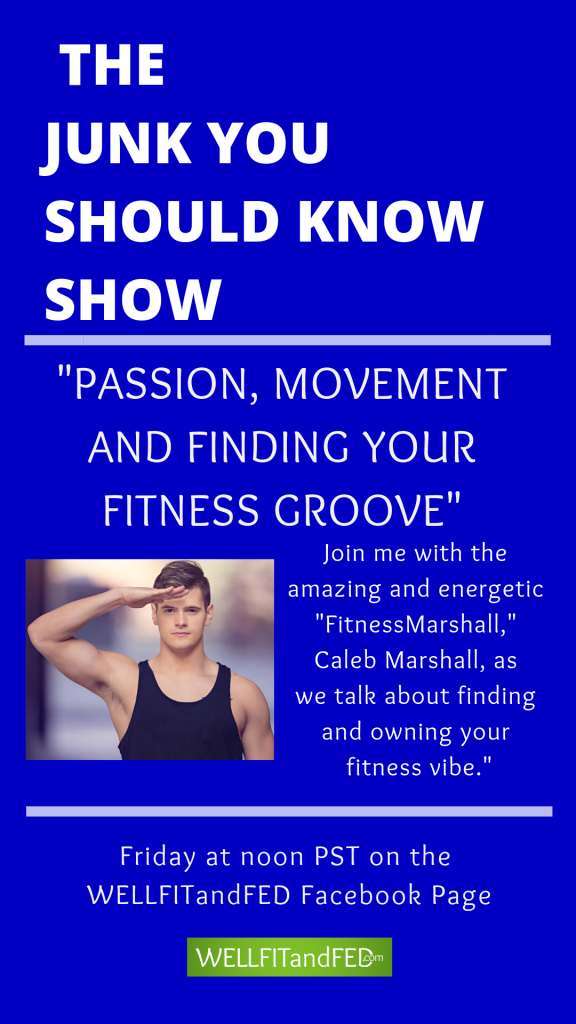 The Fitness Marshall on The Junk You Should Know Show #WELLFITandFED #TheJunkYouShouldKnowShow #TheFitnessMarshall #Fitness #Workout #Motivation